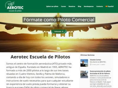 AEROTEC estrena nueva  página web